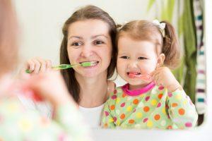 Proper dental care at home